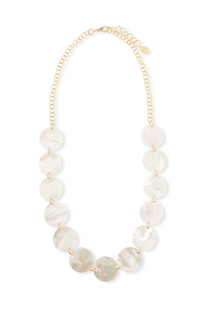 Nest Two-Strand Mother-of-Pearl Necklace LH7vcSPpu6